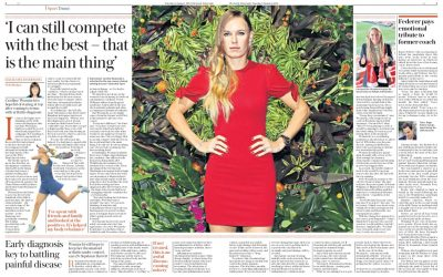 Interview with Dr Stephanie Barrett in The Daily Telegraph