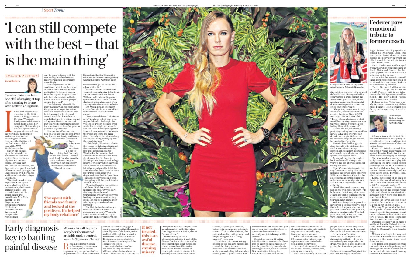 The Daily Telegraph Interview With Dr Stephanie Barrett