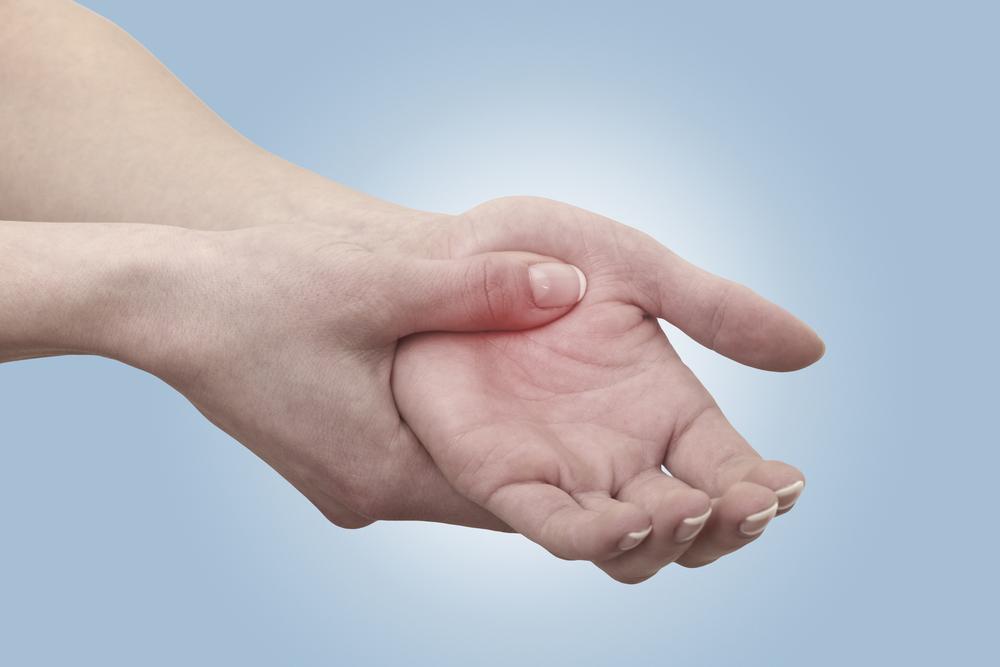 Arthritis pain in hands